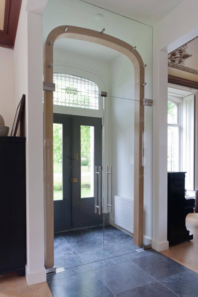 Winkel entree inhout - Moderne entree meubels ...