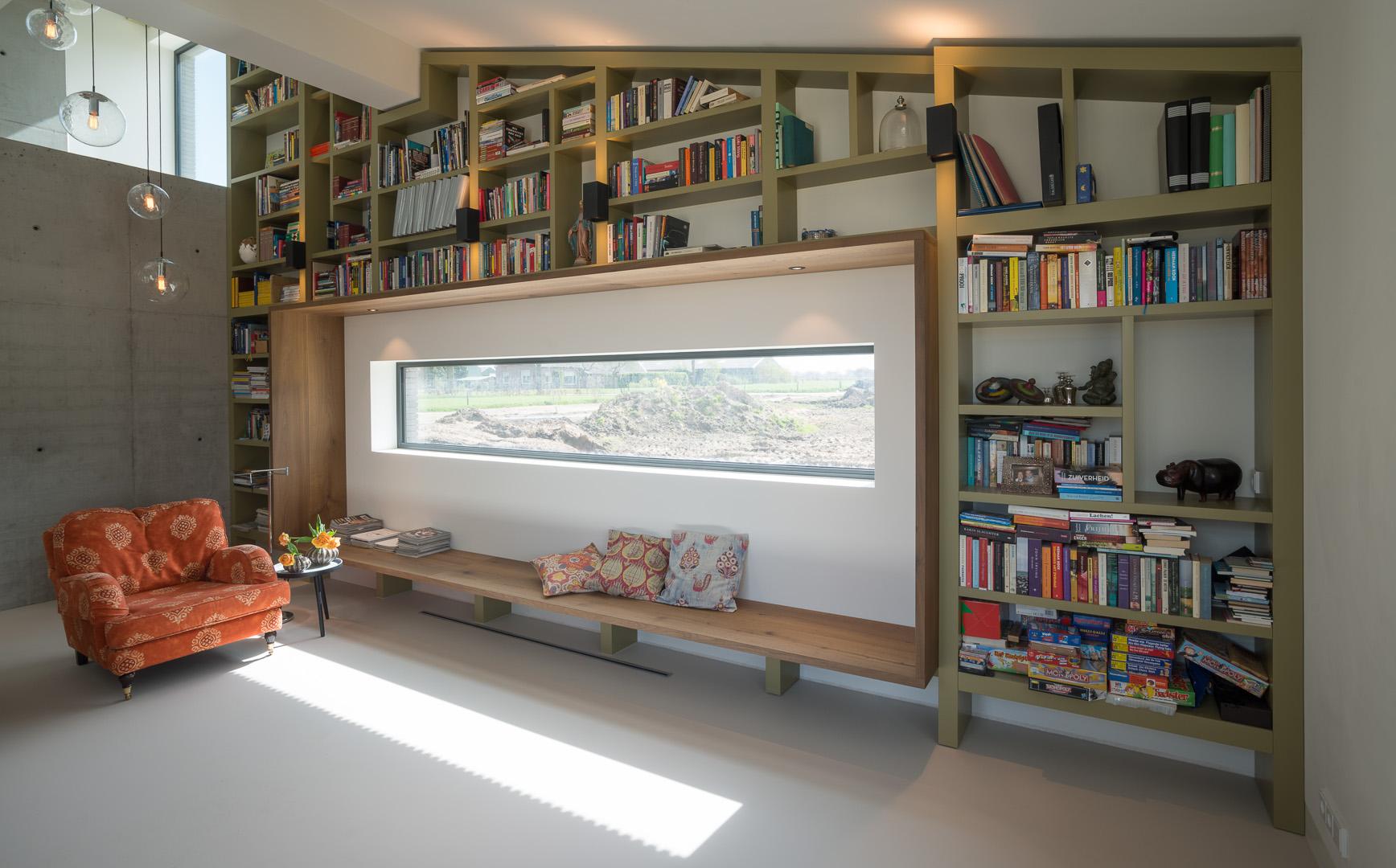 compleet interieur schuurwoning inhout